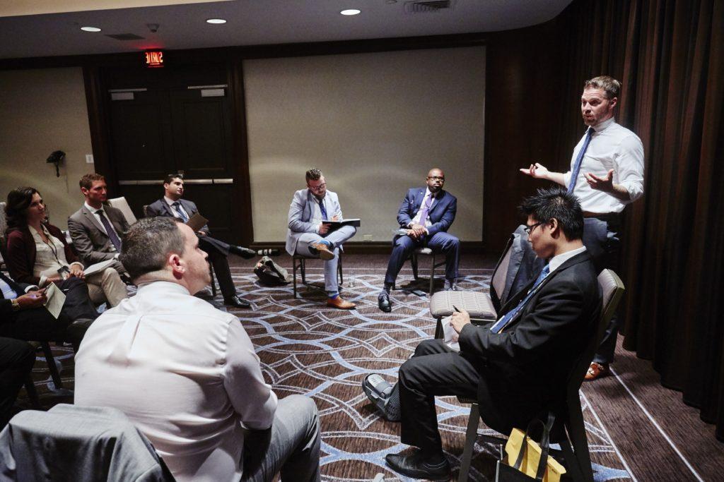John Sabastian Enges, teaching Business Management Training Program